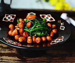 陈醋菠菜花生米:一道经典东北凉拌菜的做法