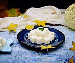 椰丝牛奶小方(无吉利丁版)的做法