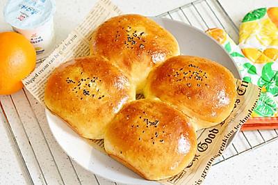淡奶油面包✧红豆夹心✧零黄油不腻#美味烤箱菜,就等你来做!#