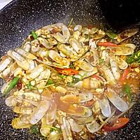 鲜味辣炒蛏子-下酒菜#单挑夏天#的做法图解18