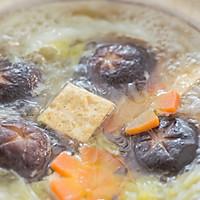 白菜豆腐牛肉煲的做法图解15