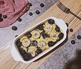 香蕉蓝莓烤燕麦的做法
