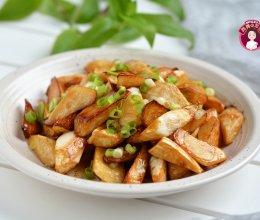 #花10分钟,做一道菜!# 油焖茭白的做法