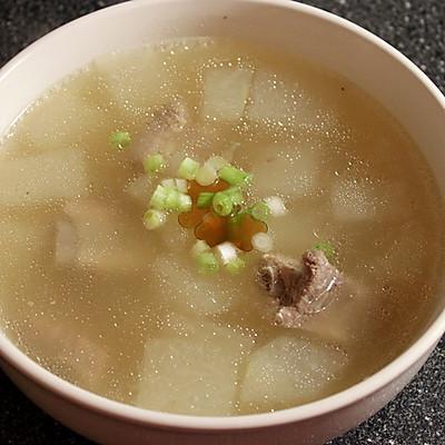 排骨两吃-冬瓜排骨汤
