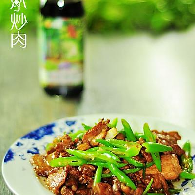 川式小炒肉+豆果菁选酱油试用