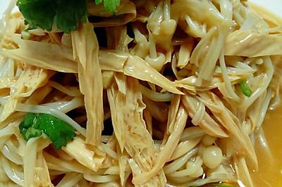 红油金针腐竹