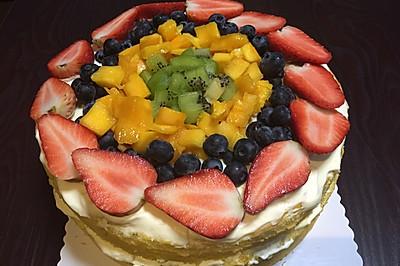 水果裸蛋糕(10寸)
