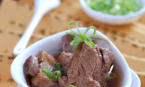 清炖排骨&排骨汤面的做法