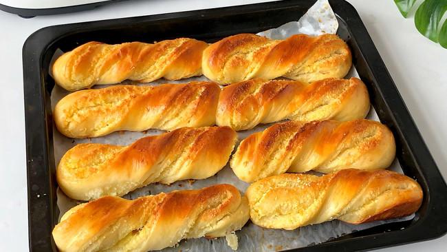 椰蓉面包这样做‼️好吃到哭了的做法