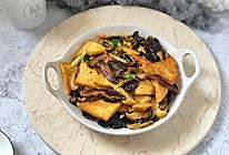 黑木耳香菇烧豆腐的做法