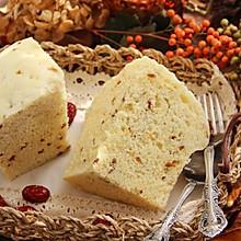 牛奶玉米面发糕#蒸派or烤派#