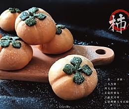 【柿柿如意】象形柿子绿豆沙包的做法