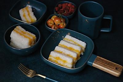 南瓜糯米糕,清甜美味,糖尿病人也能吃