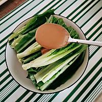 #餐桌上的春日限定#麻酱汁油麦菜的做法图解14