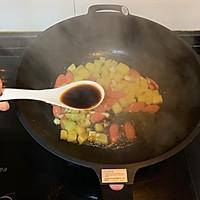 #味达美名厨福气汁,新春添口福#酱汁浓郁土豆火腿焖面的做法图解3