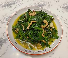 韭菜炒肉的做法