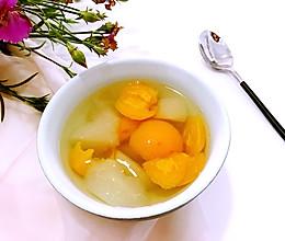 雪梨枇杷羹,咳嗽时的一味良药#美的养生壶#的做法