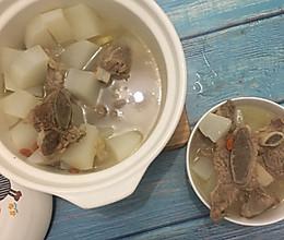 白萝卜牛排骨汤的做法