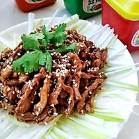 #一勺葱伴侣,成就招牌美味#京酱肉丝的做法图解15