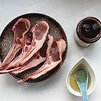 蜜汁烤羊排#松下烤箱烘焙盛宴#的做法图解1
