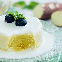 地瓜酸奶蒸糕