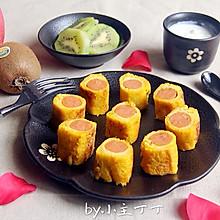 香肠土司卷#美的早安豆浆机#