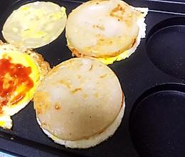 hyundai 摩飞鸡蛋饼 汉堡包 适合儿童 健康营养又美味的做法