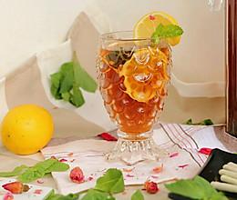 #硬核菜谱制作人#玫瑰柠檬冰红茶的做法