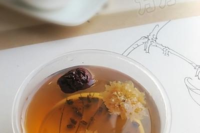 决明子菊花茶
