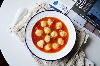 茄汁鱼丸汤