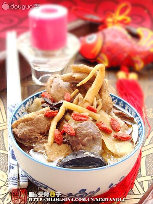 台湾姜母鸭的做法