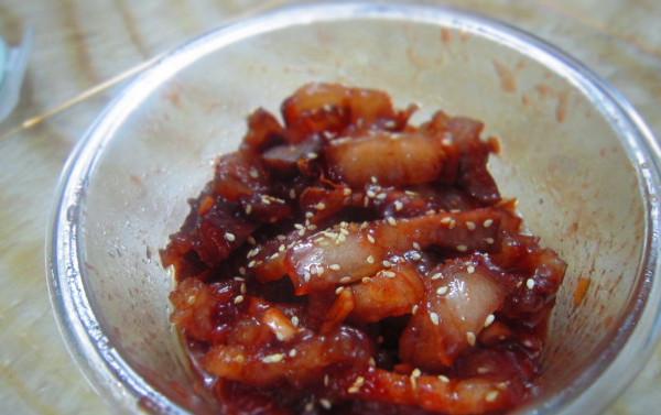 菁选酱油试用之微波炉版叉烧的做法