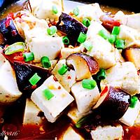 香菇烧豆腐#我要上首页挑战家常菜#的做法图解9