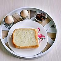 #夏日撩人滋味#豆沙鸡蛋三明治的做法图解1