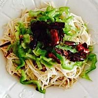 简约版红豆薏米粥  炝拌金针菇的做法图解3