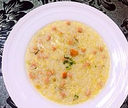 蟹黄烩饭的做法