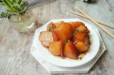 #就是红烧吃不腻!#红烧土豆