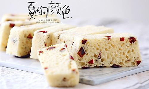 红枣牛奶发糕的做法