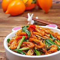 韭菜炒河蝦的做法圖解10