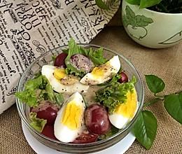 减肥沙拉•一步搞定的做法