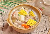 山药玉米猪骨汤的做法