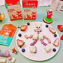 宝宝的健康魔法棒之酸奶棒椰奶红豆糕