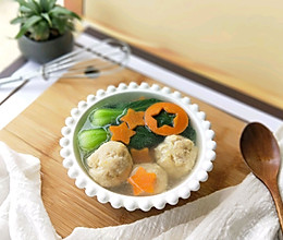 肉丸蔬菜汤#百吃不厌家常菜#的做法