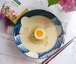 #爱乐甜夏日轻脂甜蜜#低脂高蛋白的豆浆冷面的做法