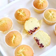 蔓越莓椰香小蛋糕