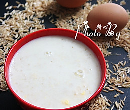 牛奶鸡蛋燕麦粥的做法