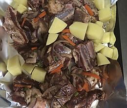 烤羊排电烤箱简单肉嫩的做法