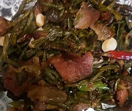 干豆角炒腊肉的做法