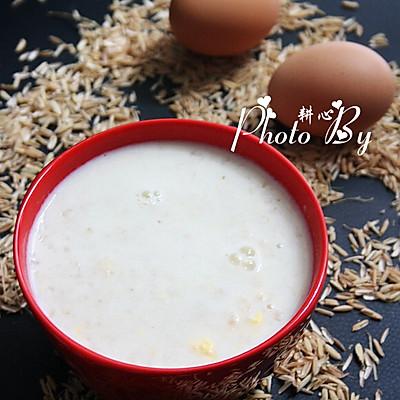 牛奶鸡蛋燕麦粥