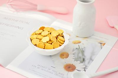 宝宝零食南瓜饼干